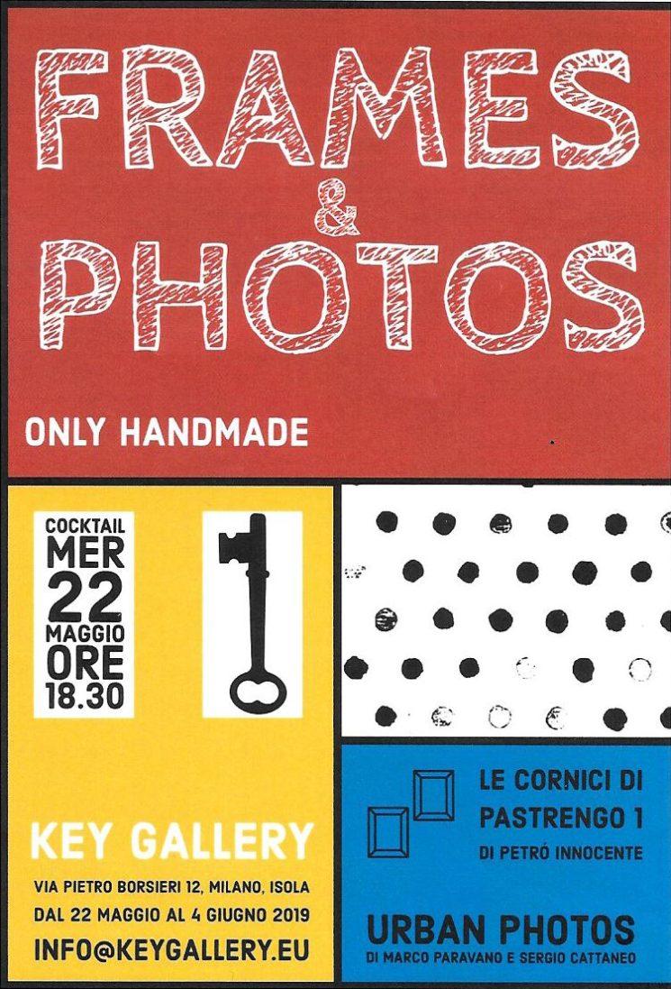"Frames & photos. Only handmade nell'antica ""isola"""