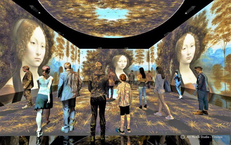 """Leonardo Da Vinci 3D"", suggestioni nell'arte"