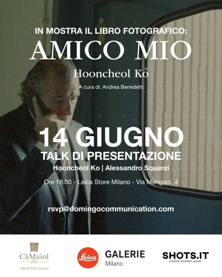"""In mostra il libro fotografico """"Amico mio. A four year journey with Alessandro Squarzi"""""""""""