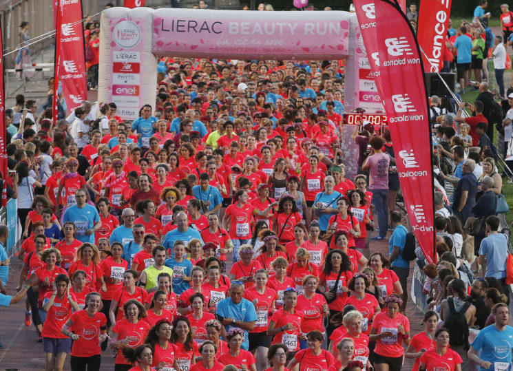 Lierac Beauty Run 2019 al via sabato 8 giugno