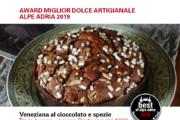 Best Gourmet Alpe Adria: a Jesolo il Gran Gala e a Dario Loison l'Award per il miglior dolce artigianale