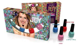 Cofanetto Faby Joy: colori  vivaci e allegri per l'estate