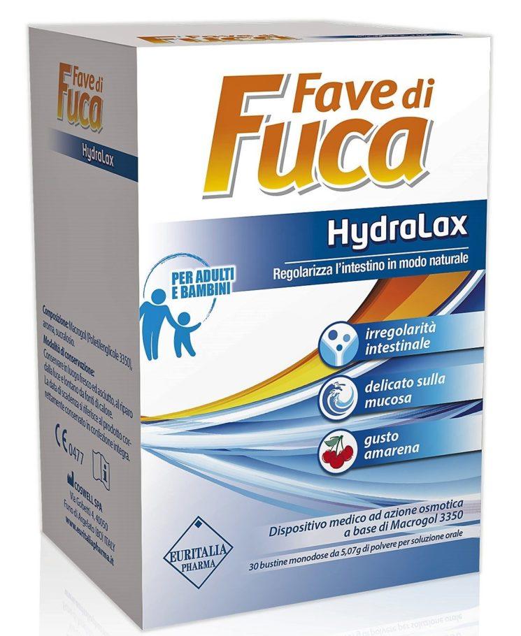 Fave di Fuca Hydralax per un'estate alle prese con il disagio intestinale
