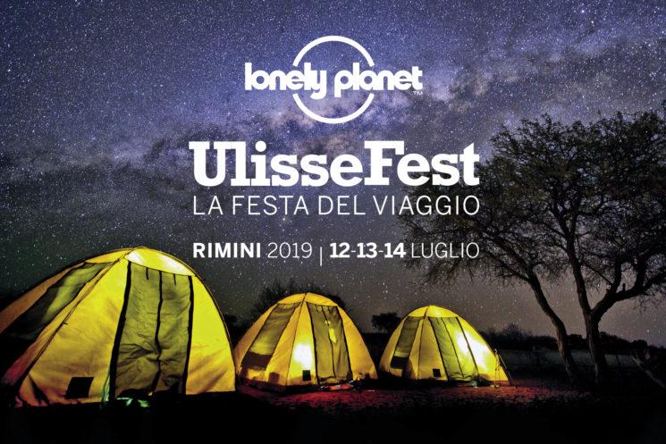 Lonely Planet UlisseFest a Rimini dal 12 al 14 luglio