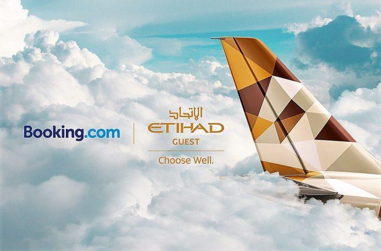 Etihad Guest e Booking.com siglano una partnership che premia i propri ospiti