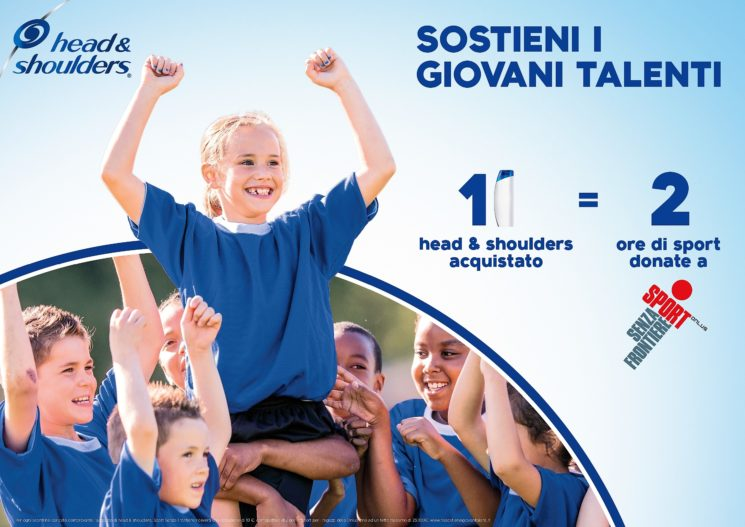 Head&Shoulders: partnership con Sport Senza Frontiere