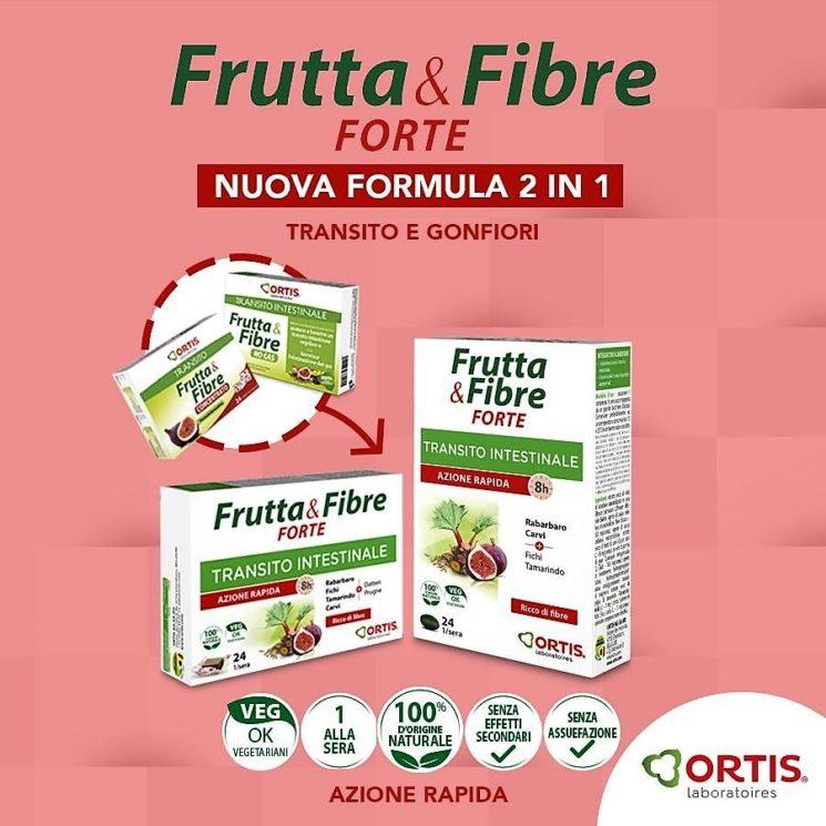 Ortis Frutta&Fibre Forte per tornare in forma dopo le vacanze