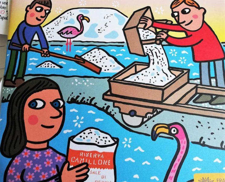 Come nasce il sale di Cervia?