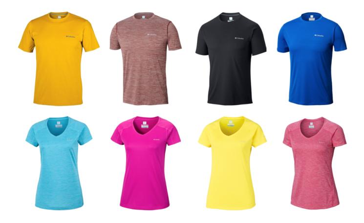 Columbia: freschi e protetti dal sole con la T-shirt Zero Rules