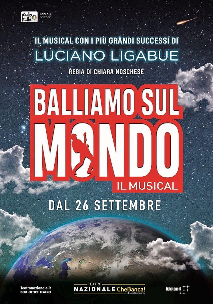 """""""Balliamo sul mondo"""", il musical con i più grandi successi di Luciano Ligabue"""