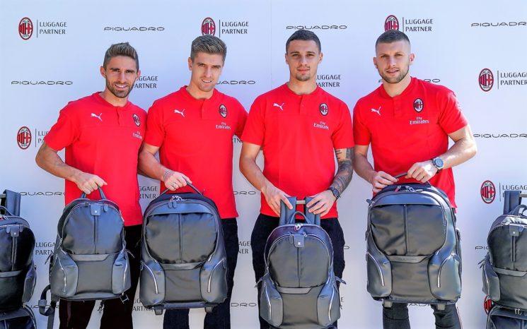 Piquadro e AC Milan: rinnovata la partnership