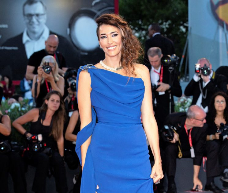 Nina Zilli in Vivienne Westwood Couture a Venezia 76