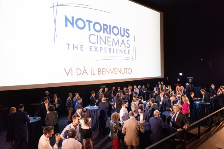Notorious Cinemas – The Experience inaugurato a Sesto San Giovanni Milano