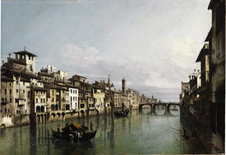 """""""Bernardo Bellotto 1740. Viaggio in Toscana"""" a Lucca fino al 7 gennaio 2020"""