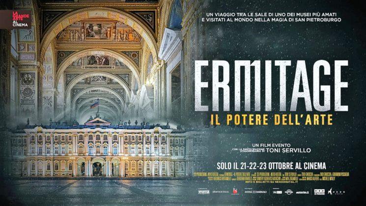 """""""Ermitage. Il potere dell'arte"""", docu-film su uno dei musei più amati al mondo"""