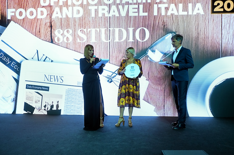 Awards 2019 Food and Travel Italia: a 88 Studio il Premio Ufficio Stampa of the Year