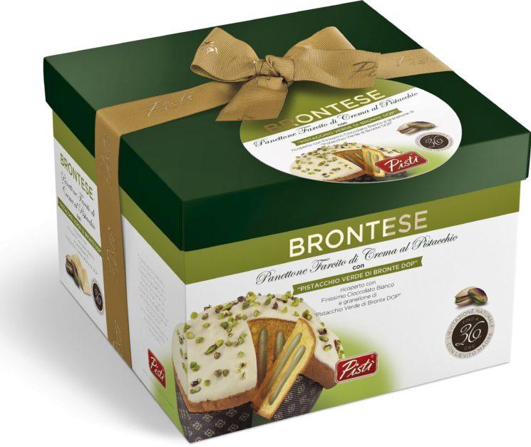 """Pistì: """"Brontese"""", gustoso panettone dalla Sicilia"""
