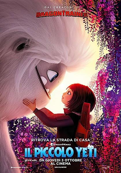 Il piccolo Yeti, film d'animazione e d'avventura