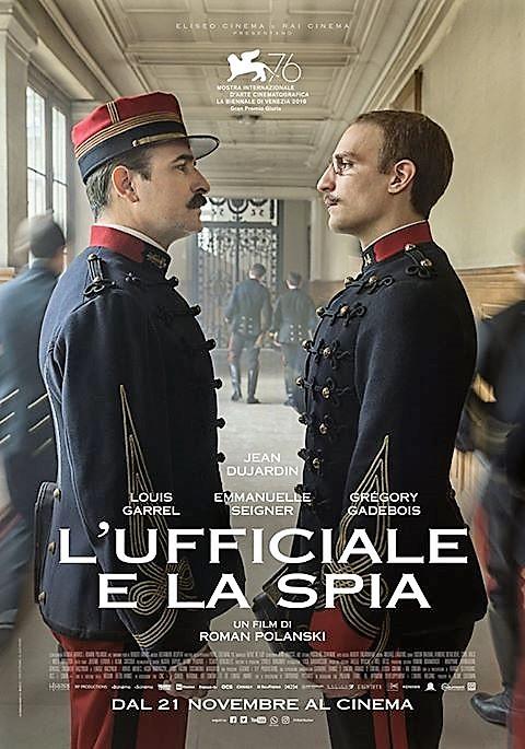 """""""L'Ufficiale e la spia"""", film storico ricco di suspence"""