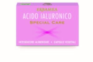 Acido ialuronico capsule vegetali, integratore firmato Erbamea