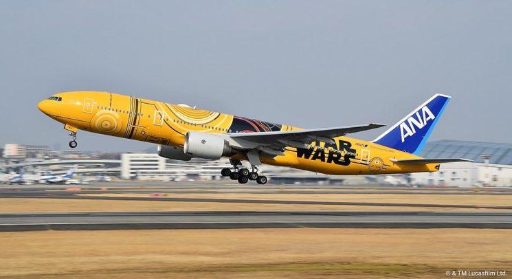 ANA: l'aeromobile a tema STAR WARS nei cieli giapponesi in dicembre