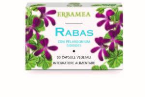 Erbamea: capsule vegetali Rabas con Pelargonium Sidoides