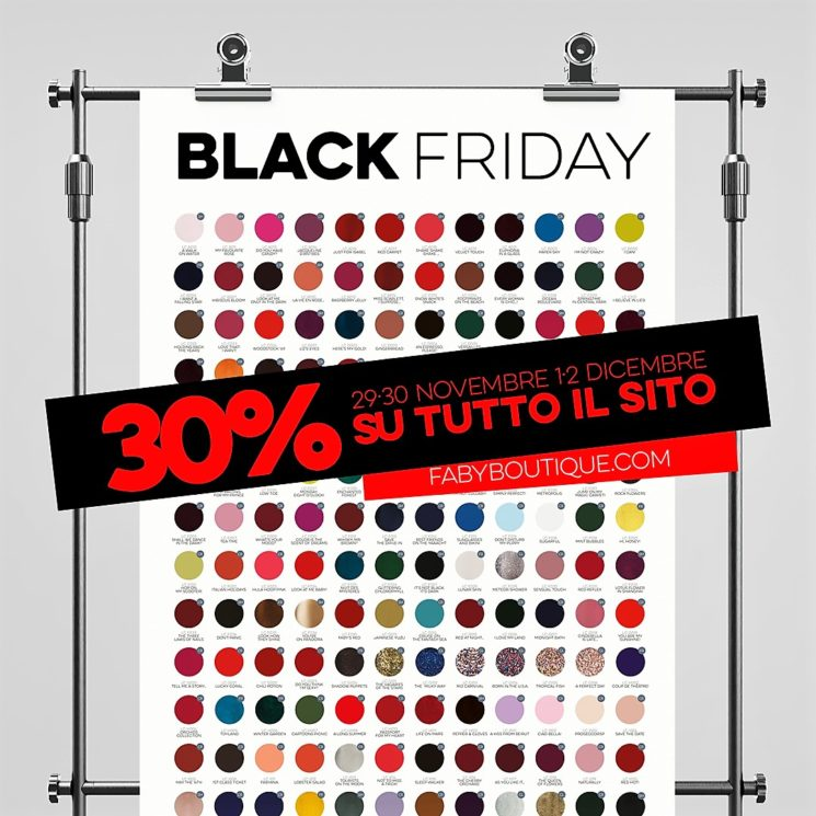 Faby per un Black Friday da non perdere