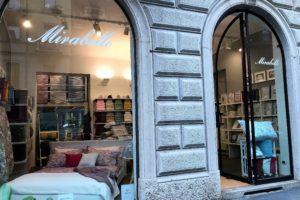 Mirabello Store Milano: in Via Fiamma le collezioni Mirabello e Carrara