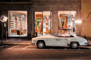 Oliver Peoples luxury brand di occhiali apre uno store a Milano