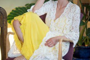 Chiara Is: vesti couture per donne che emanano luce