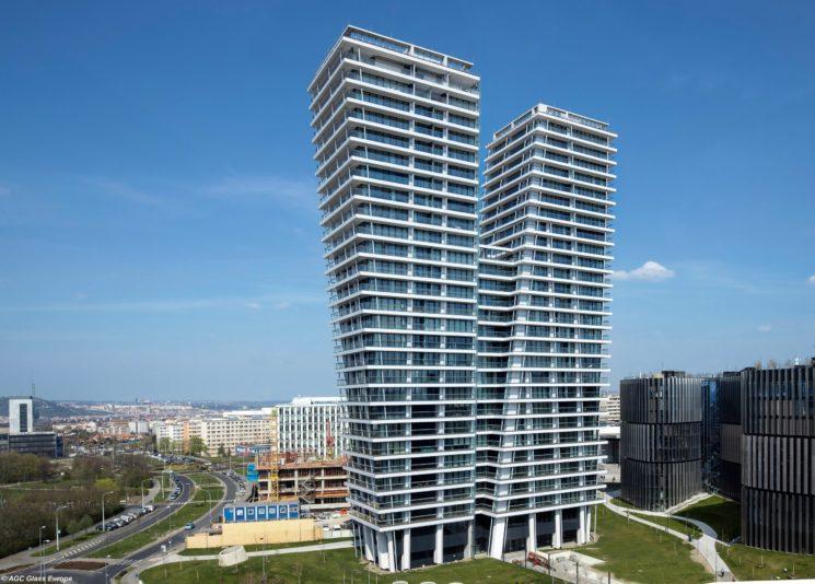 AGC Glass Europe per la V Tower di Praga