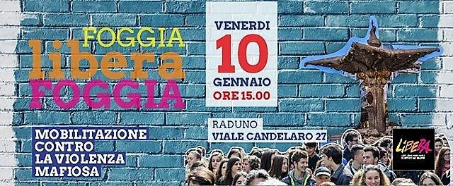 """""""Foggia Libera Foggia"""" il 10 gennaio 2020"""