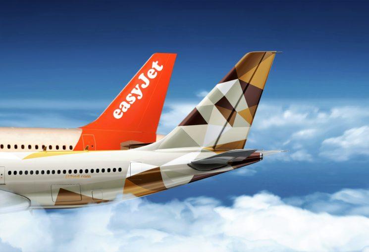 Etihad Airways: nuova partnership con easyJet