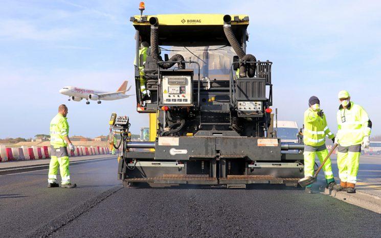 Fiumicino: primo aeroporto intercontinentale al mondo con asfalto al grafene