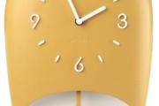 Fratelli Guzzini - Collezione Home: orologio da parete con pendolo «Bell»