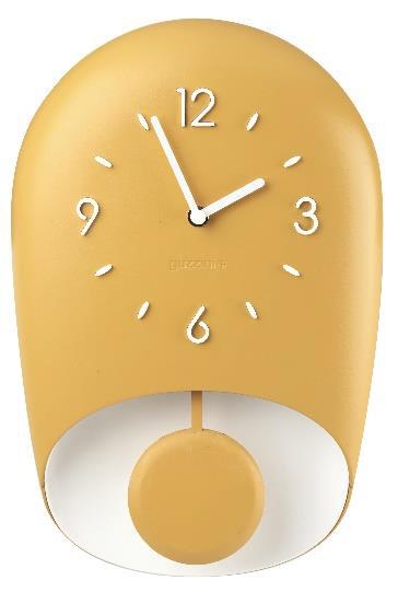 Fratelli Guzzini – Collezione Home: orologio da parete con pendolo «Bell»