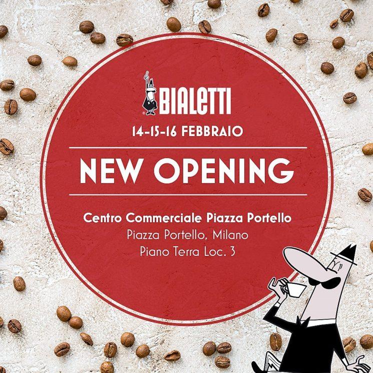 Nuovo Bialetti Store a Milano in Piazza Portello