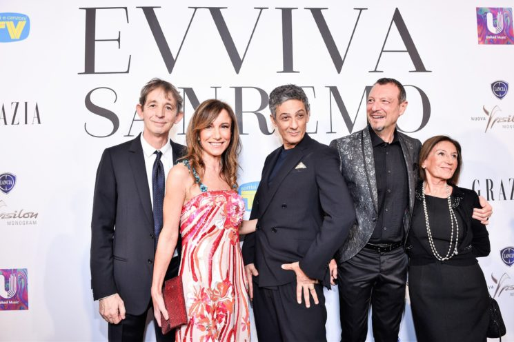 Evviva Sanremo, il party esclusivo di TV Sorrisi e Canzoni, Grazia e United Music