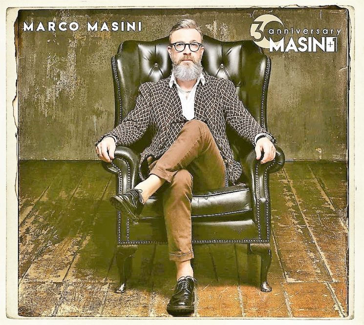 Marco Masini celebra quest'anno 30 anni di carriera