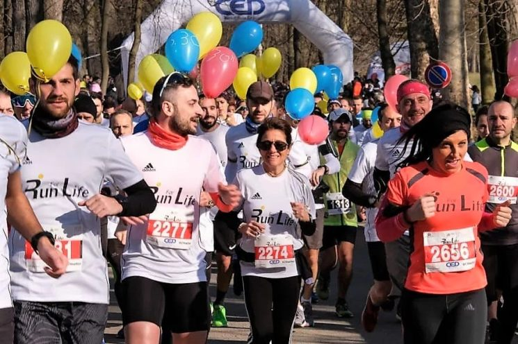 FIDAL Lombardia al fianco di Run for Life