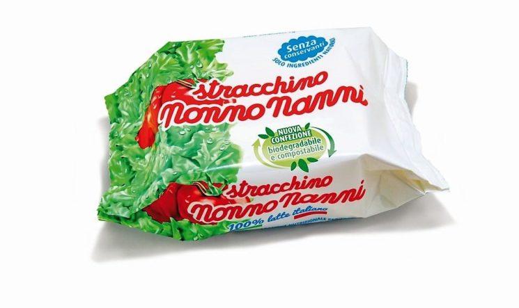 Nonno Nanni: packaging compostabile per lo stracchino