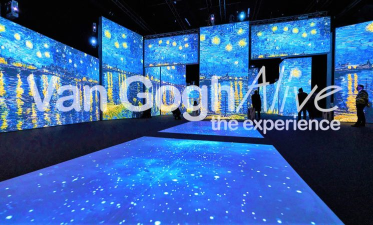 Al MAAG Halle di Zurigo Van Gogh e i suoi dipinti con una mostra multimediale fino al 9 aprile