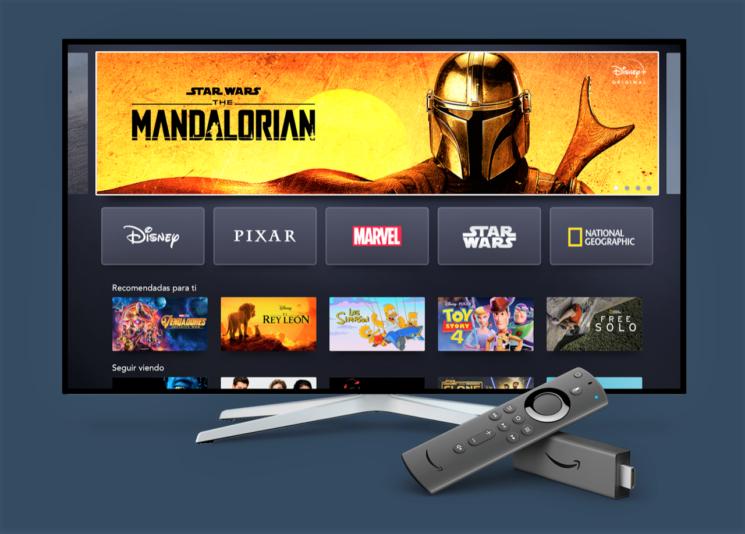 Disney+ arriva su Amazon Fire TV e Tablet Fire