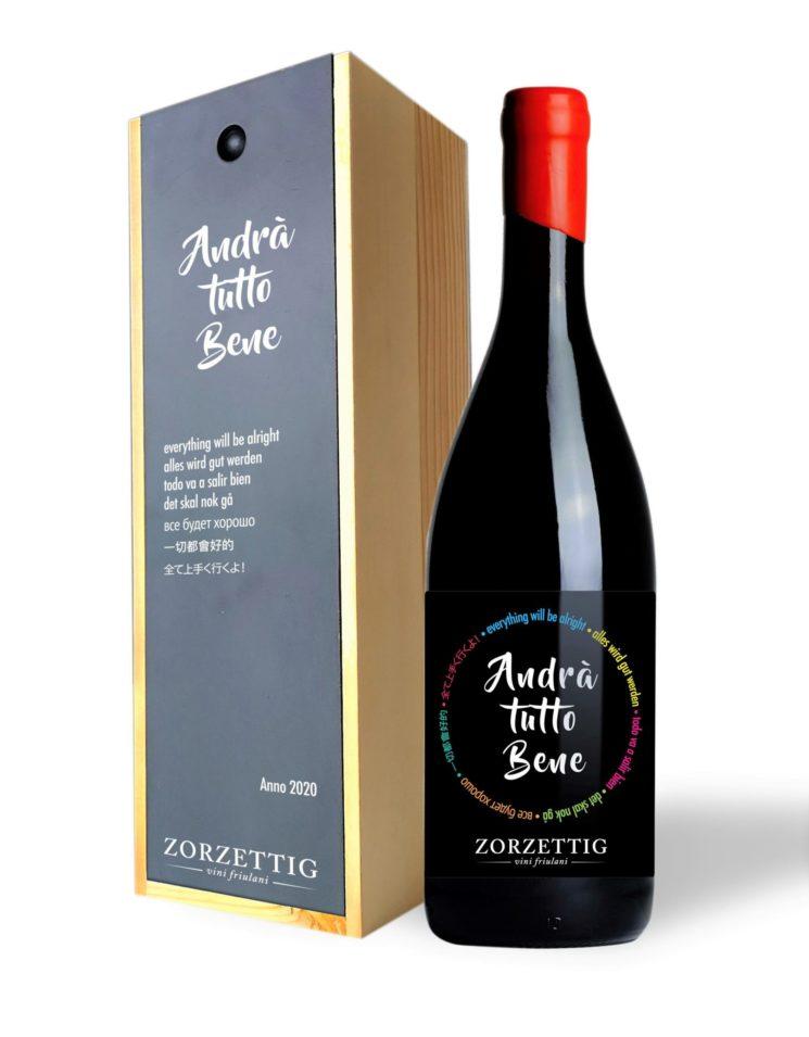Zorzettig: una bottiglia speciale a sostegno dell'Ospedale di Udine
