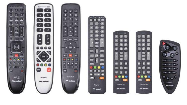 Meliconi presenta i telecomandi universali
