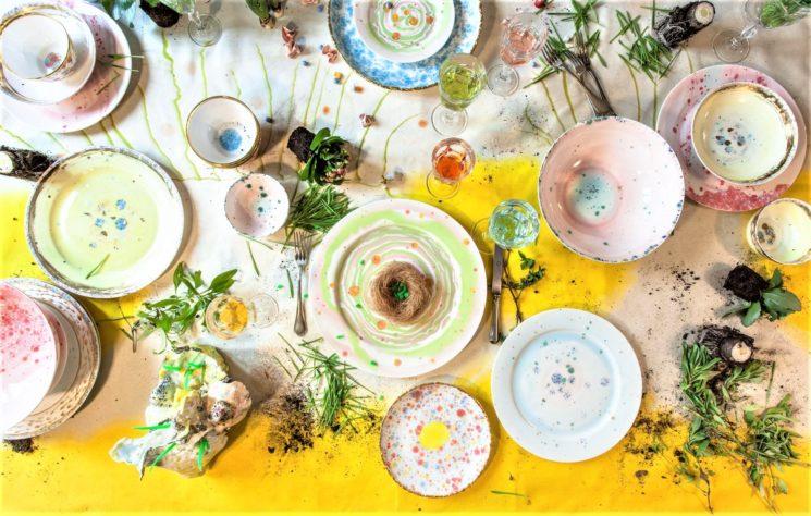 Coralla Maiuri e la sua tavola di primavera