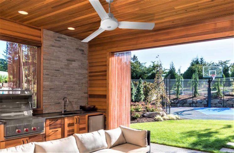 Nordik International Plus, ventilatori da soffitto reversibili per esterni