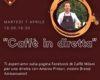 "Caffè Milani: appuntamento online con ""Caffè in diretta"""