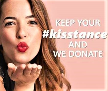 "essence e Catrice insieme per ""Keep your #kisstance and we donate"""