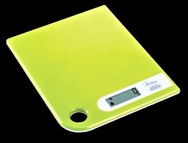 Bilancia digitale da cucina di Ardes ultrapiatta e funzionale